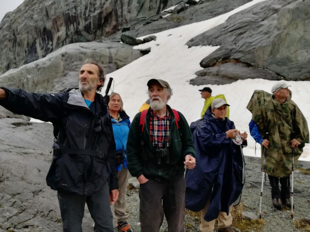 Wanderführer Joel Vallouise Tagung © Ch. Grissemann