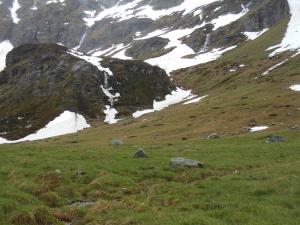 Typisches Alpenkrähen Habitat, Valle Antigorio / Italien; Foto: J. Denkinger